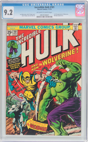 Incredible Hulk #181 CGC 9.2: A Premium Book For Premium Money