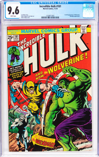 Incredible Hulk #181 CGC 9.6: The Serious Business Begins Here