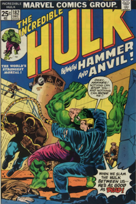 Incredible Hulk #182: 3rd Wolverine Appearance. Click for values