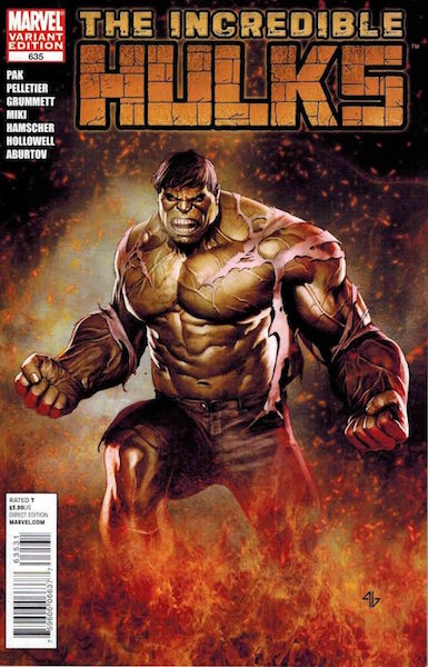 #33: Incredible Hulks 635 Granov Variant (2011). Click for values