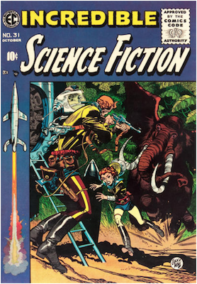 Incredible Science Fiction #31. Click for current values.