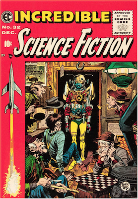 Incredible Science Fiction #32. Click for current values.