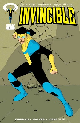 Invincible #1 (2003) 1st Invincible / Mark Grayson. Click for values