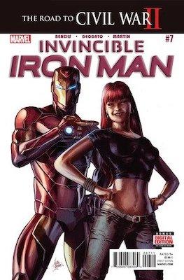 Invincible Iron Man v3 #7, 1st Riri Williams aka Ironheart. Click for values
