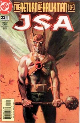 Origin and First Appearance, Onimar Synn, JSA #23, DC Comics, 2001. Click for value