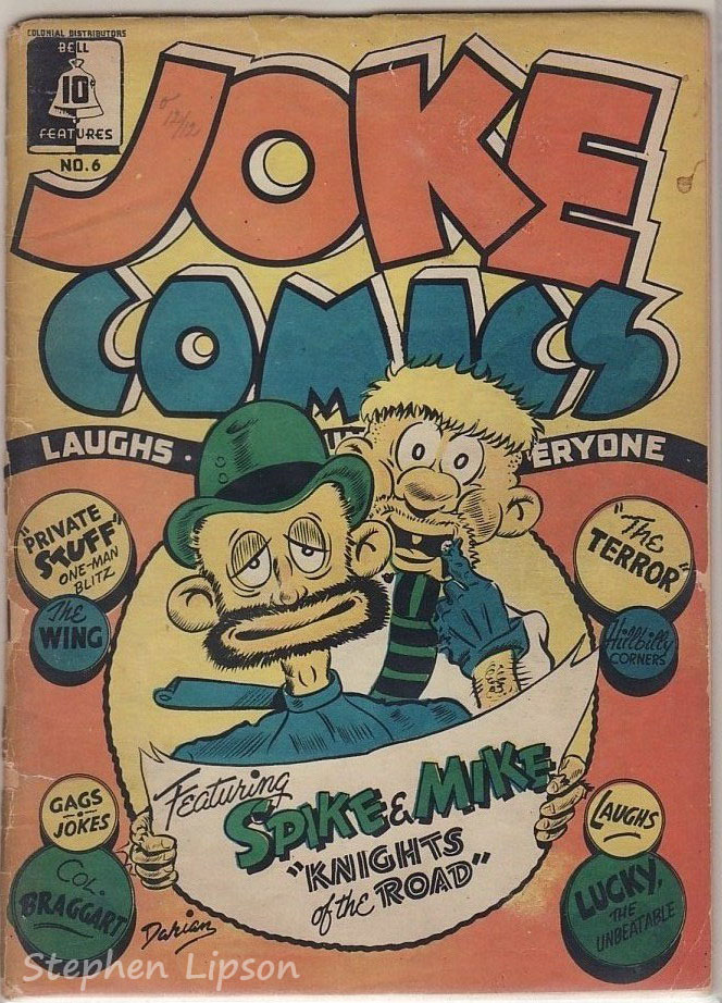 Bell Features Joke Comics #6