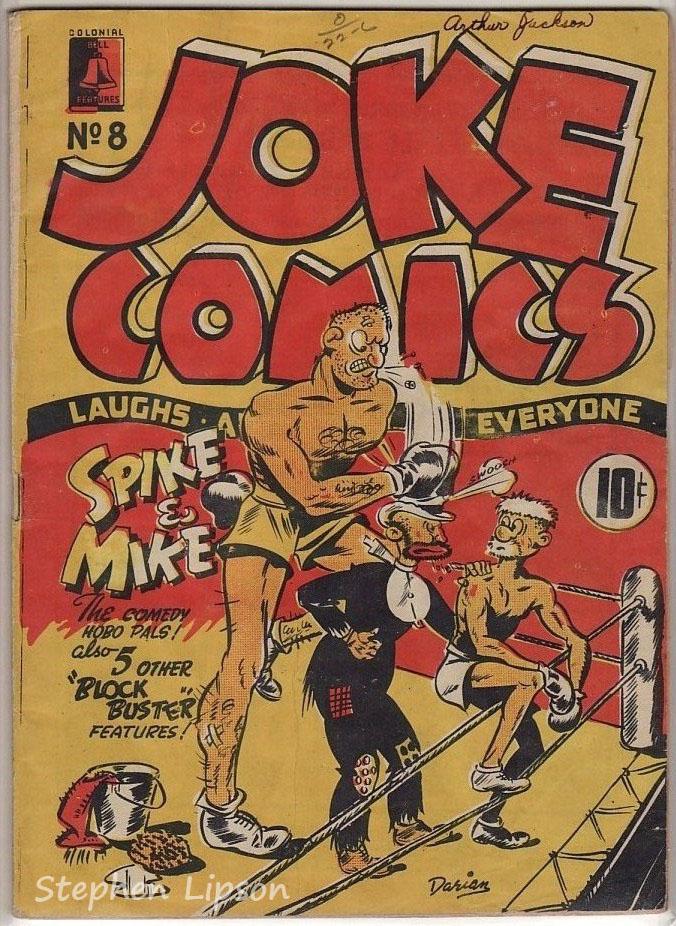 Bell Features Joke Comics #8