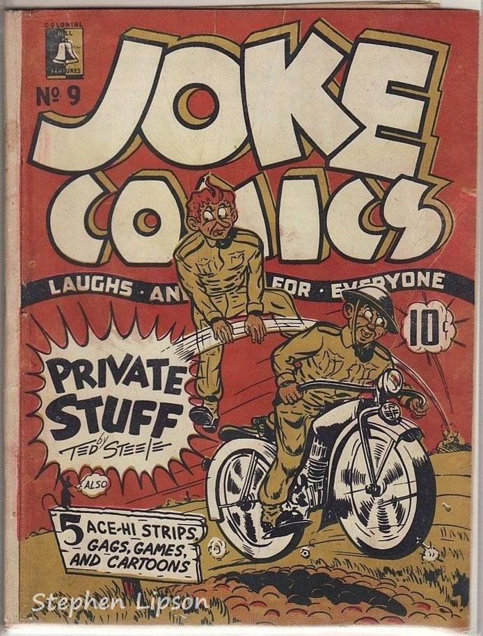 Bell Features Joke Comics #9