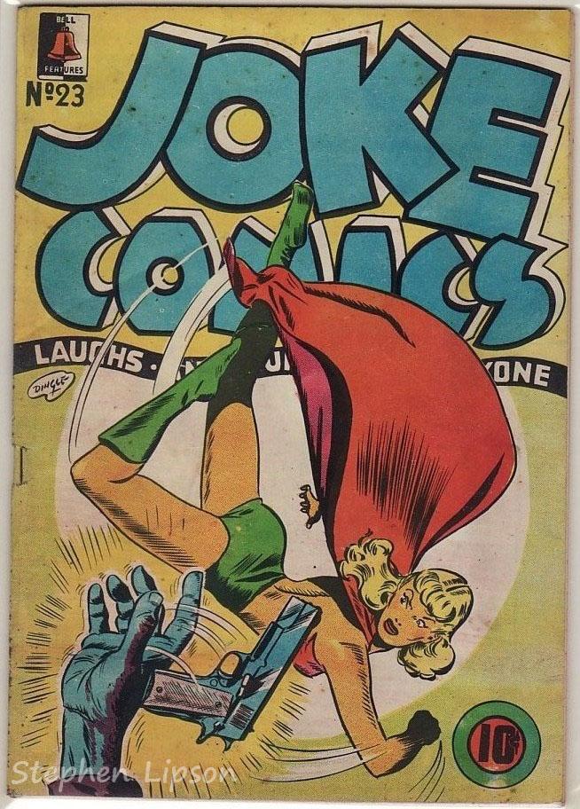 Bell Features Joke Comics #23