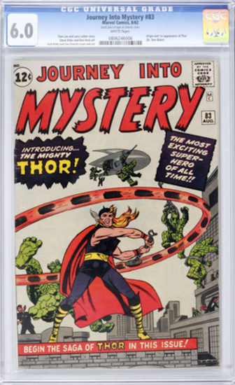 Wouldn't You Rather Own... Journey into Mystery #83 CGC 6.0?