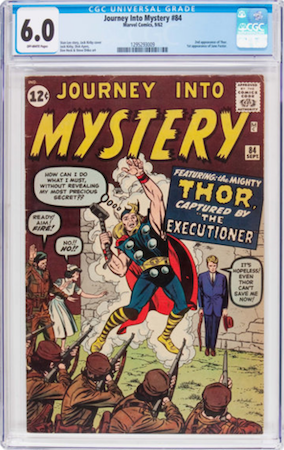 IF you can find one, then a CGC 6.0 of Journey into Mystery #84 would be the perfect 'better than usual' investment copy. Click to buy a copy