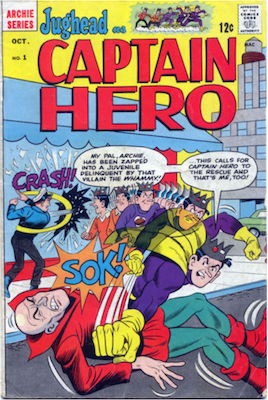 Jughead as Captain Hero #1. Click for current values.