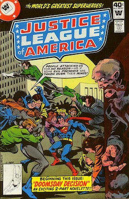 Justice League of America #169. Click for current values.