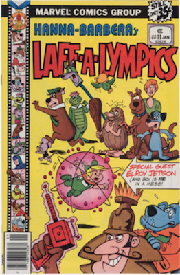 Laff-a-Lympics Comics #11 (Marvel Comics, 1978-79). Features Scooby Doo on some covers. Click for values