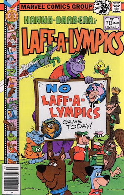 Laff-a-Lympics Comics #13 (Marvel Comics, 1978-79). Features Scooby Doo on some covers. Click for values