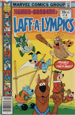 Laff-a-Lympics Comics #2 (Marvel Comics, 1978-79). Features Scooby Doo on some covers. Click for values