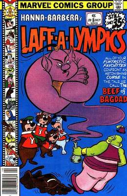 Laff-a-Lympics Comics #8 (Marvel Comics, 1978-79). Features Scooby Doo on some covers. Click for values