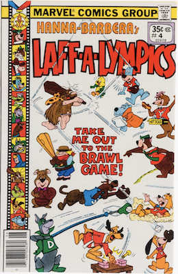 Laff-a-Lympics Comics #4 (Marvel Comics, 1978-79). Features Scooby Doo on some covers. Click for values