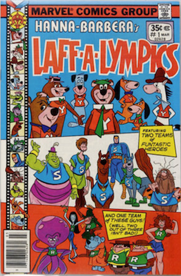 Laff-a-Lympics Comics #1 (Marvel Comics, 1978-79). Features Scooby Doo on some covers. Click for values