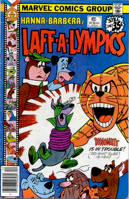 Laff-a-Lympics Comics #10 (Marvel Comics, 1978-79). Features Scooby Doo on some covers. Click for values