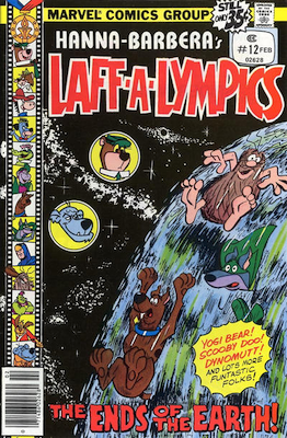 Laff-a-Lympics Comics #12 (Marvel Comics, 1978-79). Features Scooby Doo on some covers. Click for values