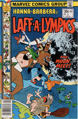 Laff-a-Lympics Comics #3 (Marvel Comics, 1978-79). Features Scooby Doo on some covers. Click for values