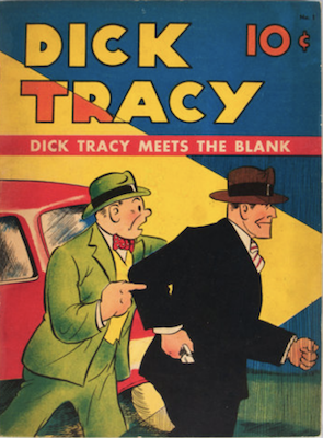 Dick Tracy: Large Feature Comic #1 (1939). Click for values