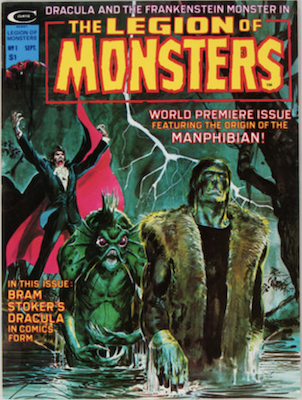 Legion of Monsters #1, 1st Appearance. Click for values