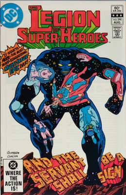 Legion of Super-Heroes #290: The Great Darkness Saga