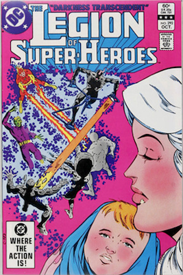 Legion of Super-Heroes #292: The Great Darkness Saga