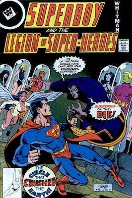 Legion of Superheroes #244. Click for current values.