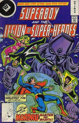 Legion of Superheroes #245. Click for current values.