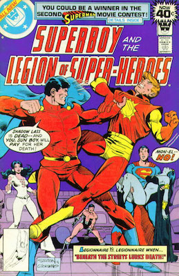Legion of Superheroes #248. Click for current values.