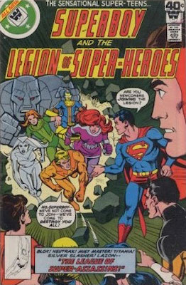 Legion of Superheroes #253. Click for current values.