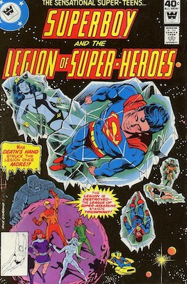 Legion of Superheroes #254. Click for current values.