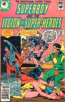 Legion of Superheroes #255. Click for current values.