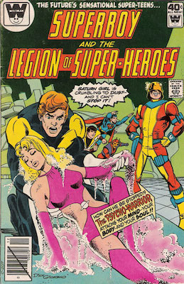 Legion of Superheroes #258. Click for current values.