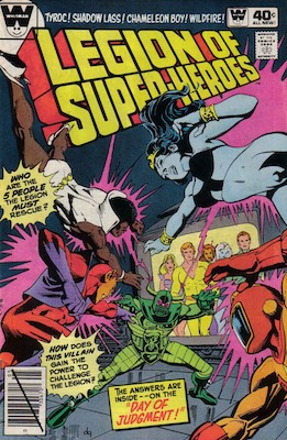Legion of Superheroes #263. Click for current values.