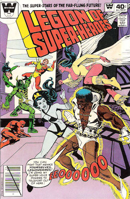 Legion of Superheroes #264. Click for current values.
