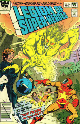 Legion of Superheroes #266. Click for current values.