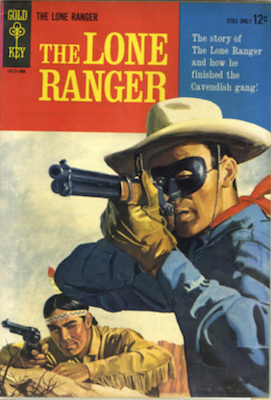 Lone Ranger #1 (1964), Gold Key. Click for values