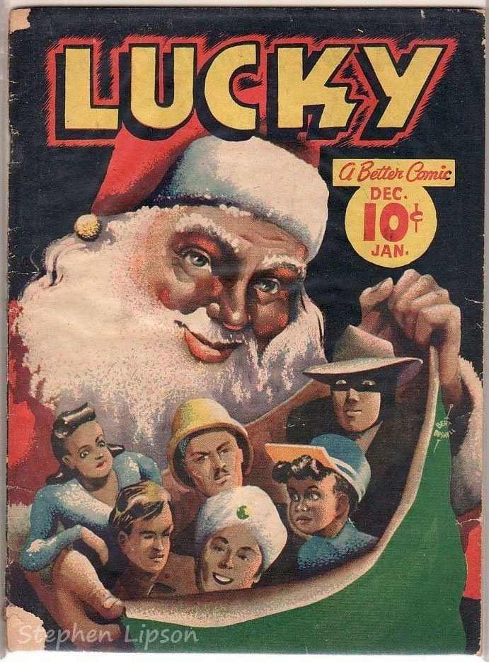 Maple Leaf Publishing Lucky Comics v2 #1