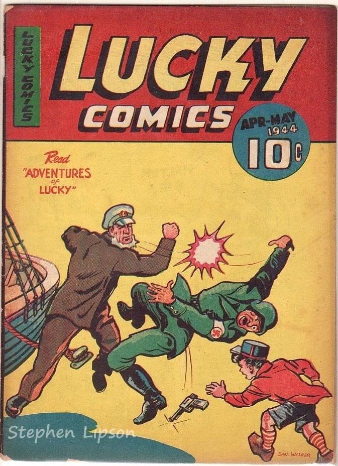 Lucky Comics v2 #9. Click for values