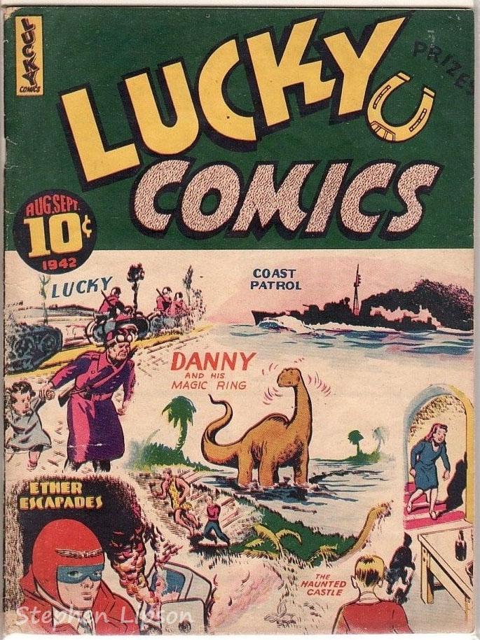 Lucky Comics v1 #9