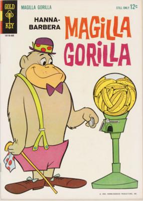 Magilla Gorilla #1 (1964), Gold Key. Click for values