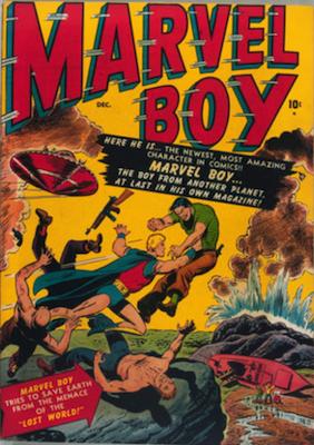 Marvel Boy #1: Origin of Marvel Boy. Click for values