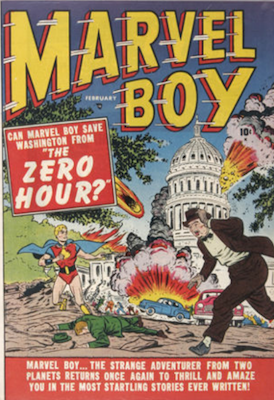 Marvel Boy #2: Washington DC under attack. Click for values
