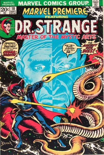 Marvel Premiere #10 (September, 1973) : Dr. Strange. Click for value