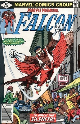 Marvel Premiere #49 (August, 1979): The Falcon. Click for values