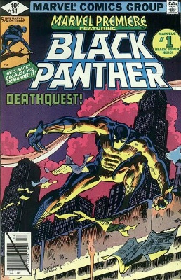 Marvel Premiere #51 (December, 1979): Black Panther. Click for values